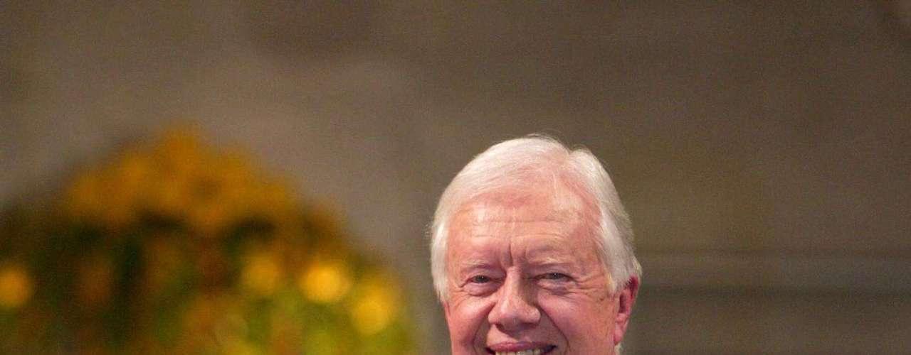2002: Jimmy Carter, Estados Unidos, \