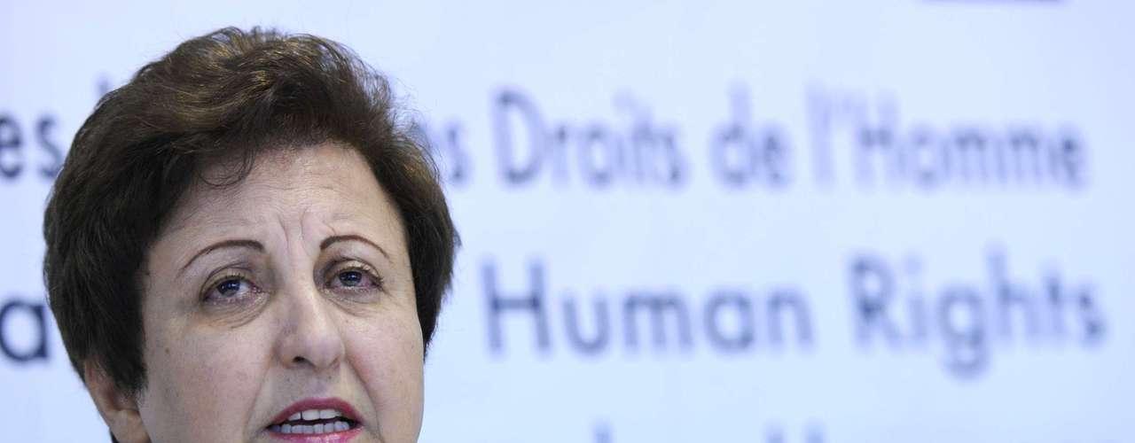 2003: Shirin Ebadi, Irán, \