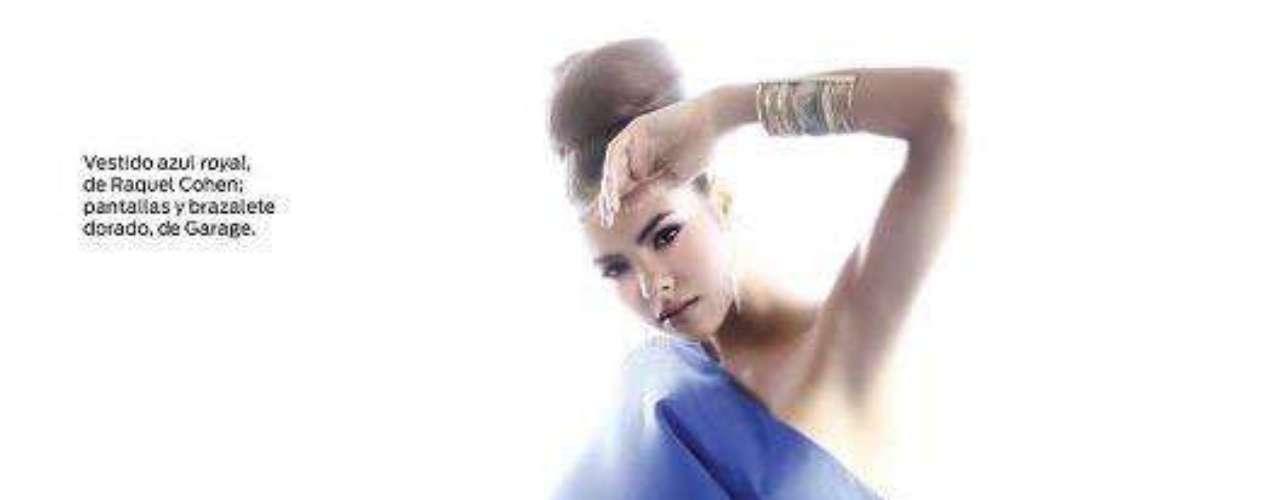 Miss Puerto Rico - Bodine Koehler.  Mide 1.83 metros de estatura. Es modelo profesional.