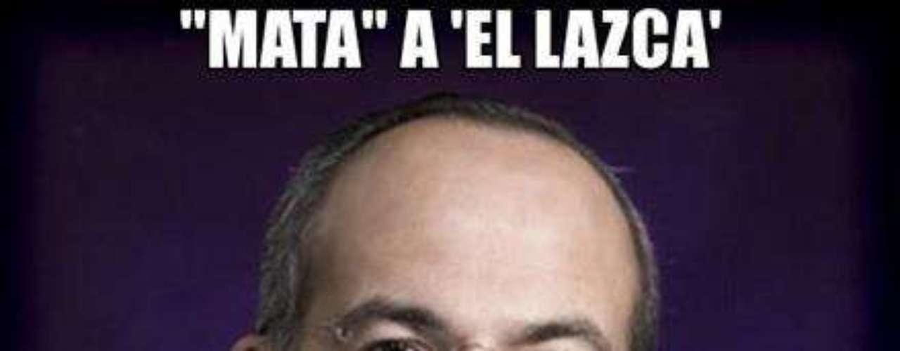 El Presidente Felipe Calderón felicitó a la Marina por haber abatido al líder de \