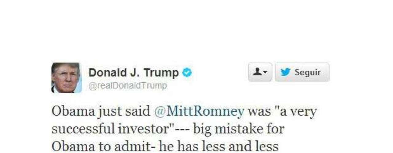 Como ya lo dijimos, Trump tiene un Twitter muy activo durante el debate. \