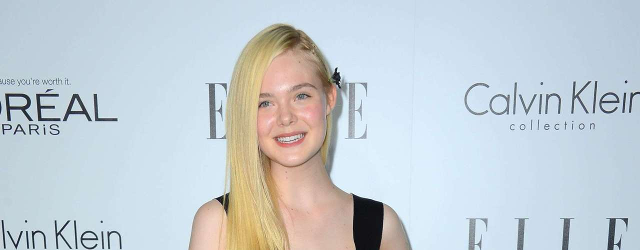 Elle Fanning is a cute little dresser and has great style.