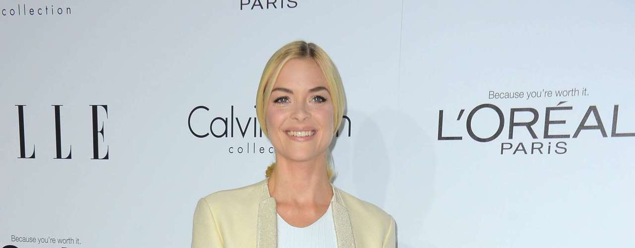 Jaime King went for the washed out look for the Women in Hollywood celebration.