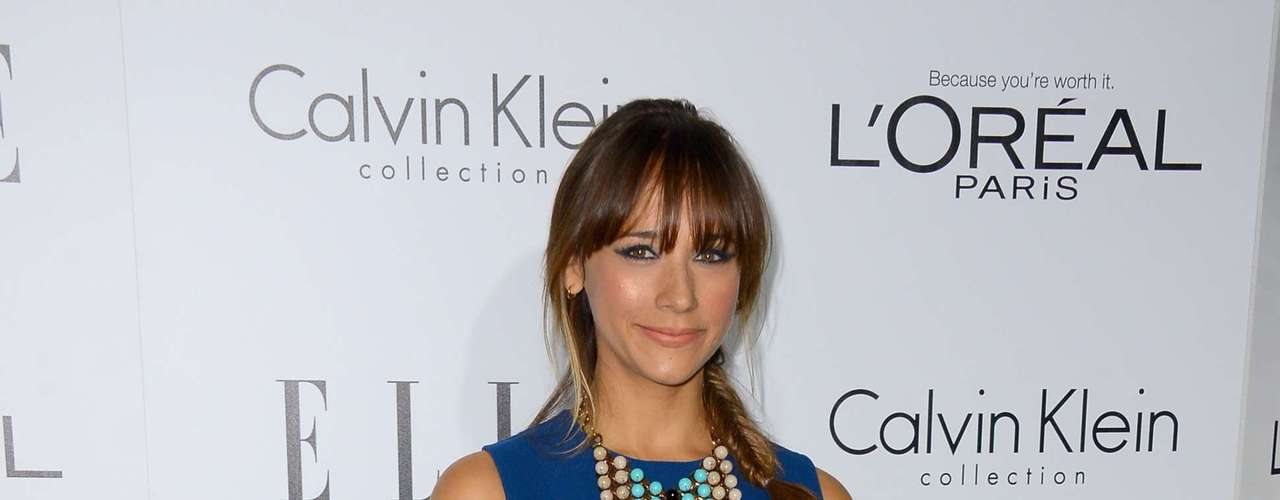 Rashida Jones totally showed us that she can actually look cute after a string of horrible outfits.