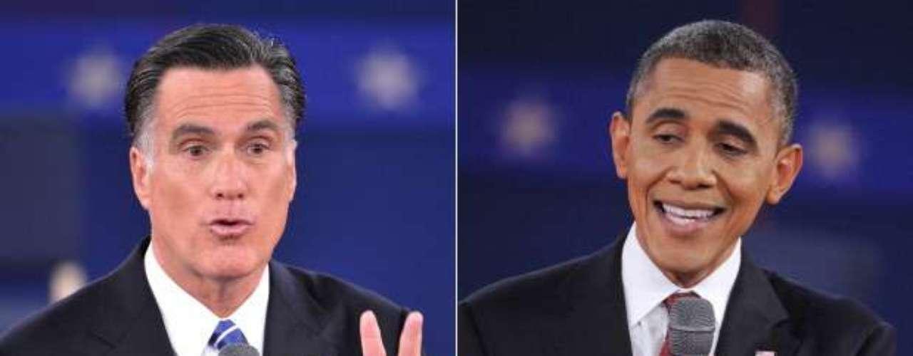 El tema de los inmigrantes también desató la polémica entre ambos candidatos, que no tuvieron problema en reaccionar y responder a los ataques de su rival.