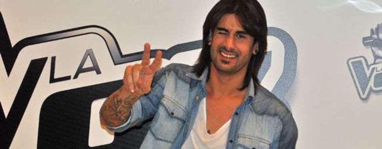 Melendi. El cantautor español también es parte de 'La Voz España' junto a la cantante Malú, la otra entrenadora del programa.