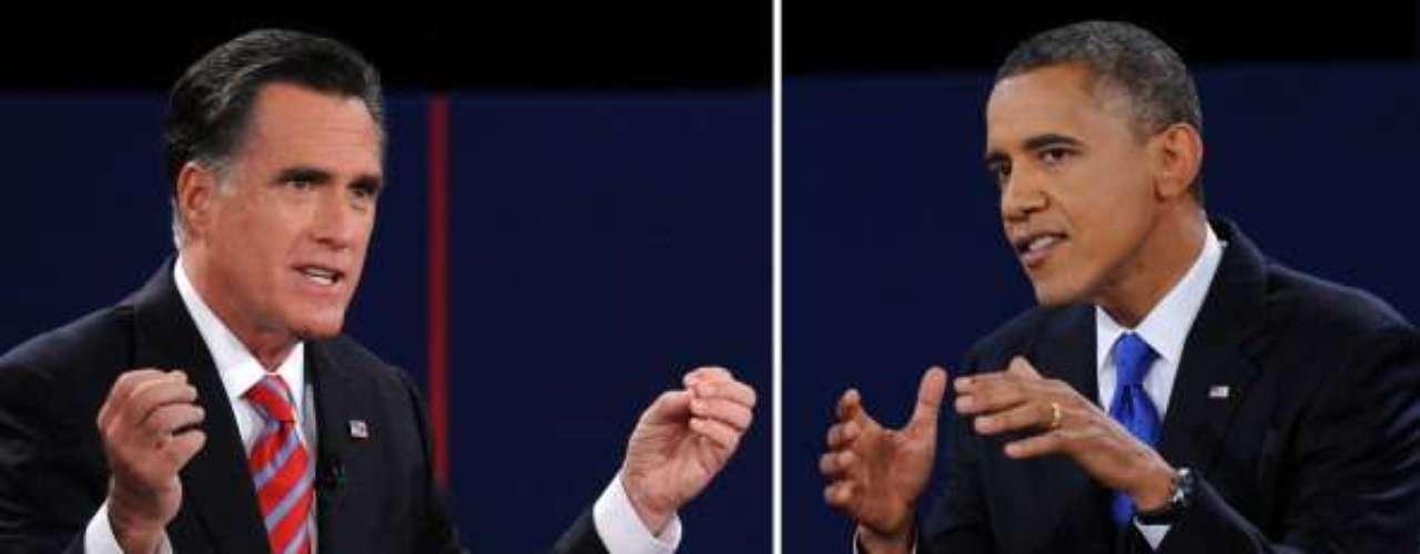 Barack Obama y Mitt Romney llegaron al tercer y último debate presidencial, casi sin diferencias en las encuestas. Quien haya salido victorioso esta noche, podrá inclinar la balanza el 6 de noviembre, cuando se desarrollen las elecciones presidenciales.