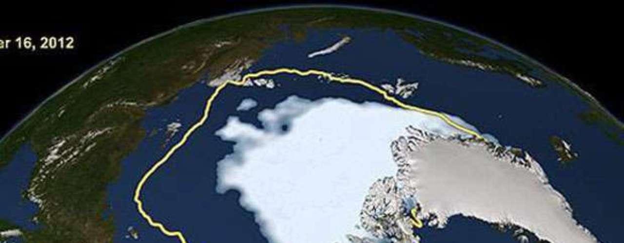 La NASA indica que entre 1978 y 2010 la extensión de la Antártida creció en 17.000 kilómetros cuadrados cada año, pero \