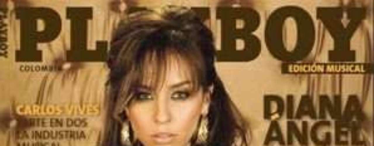 Diana Ángel: La cantante y actriz se dejó ver por primera vez muy ligera de ropa en una sesión de fotos.