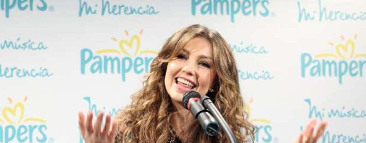 Thalía, mamá de Sabrina Sakäe y Matthew Alejandro, expresó a EFE que está contenta de ser la portavoz de esta campaña, \