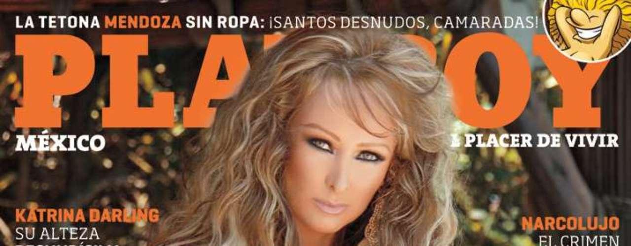 Con su aparición en la revista del conejito, Marisol Santacruz espera ...