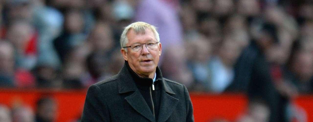 Alex Ferguson - Manchester United (Subcampeón Premier League)