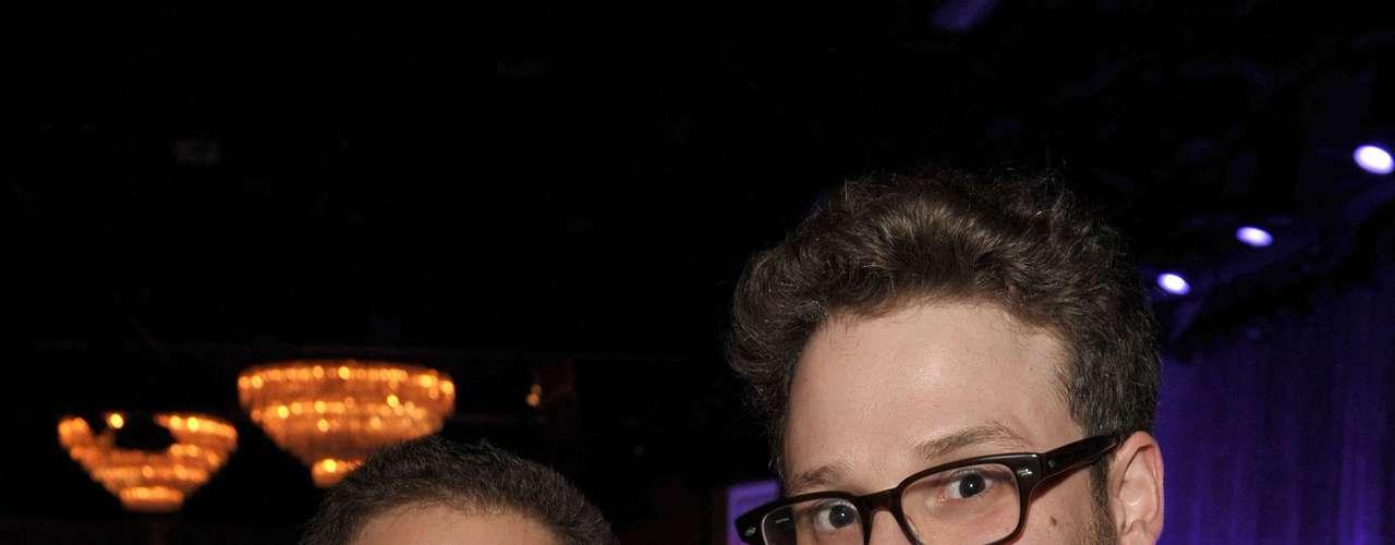 Jonah Hill y Seth Rogen son amigos dentro y fuera del set ya que los dos cómicos actores son el nuevo dúo dinámico de las risas en Hollywood