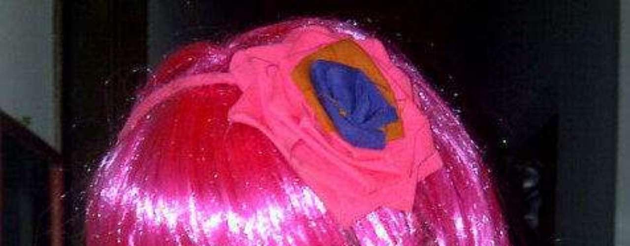 Esta fotografía la publicó Sara Uribe mostrando su disfraz del año 2011.