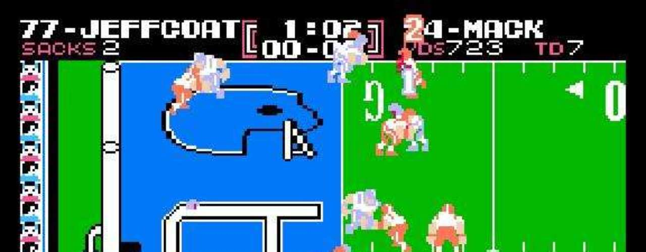 Today, the NFL and the Madden series are synonymous. But, before EA Sports came on the scene, Tecmo released its highly successful football game in 1988, complete with real NFL players and 12 teams. Each team had four plays to choose from, and defenses recorded a sack when the player chose the same play the offense did. You could play a full season with the game, and the gameplay and graphics were advanced for the time.