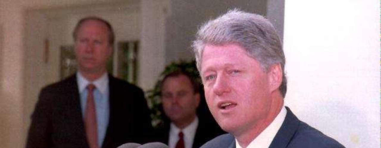 Bill Clinton fue el 42º presidente de Estados Unidos y tomó el mando de la nación en 1993, siendo el tercer primer mandatario más joven de la historia.