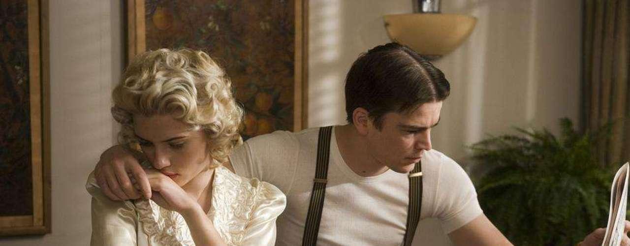 En The Black Dahlia compartió créditos con su ex, el también actor Josh Hartnett y mostraron más que química en pantalla.