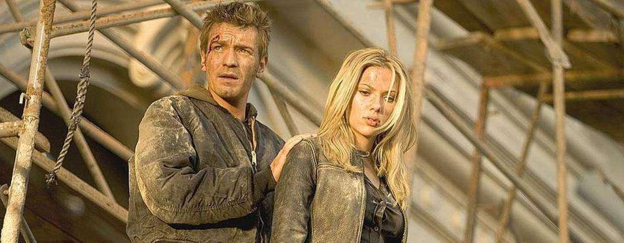 The Island fue otra de las películas en donde Scarlett Johansson pasa de ser una inexperta del sexo a una diosa junto a Ewan McGregor.