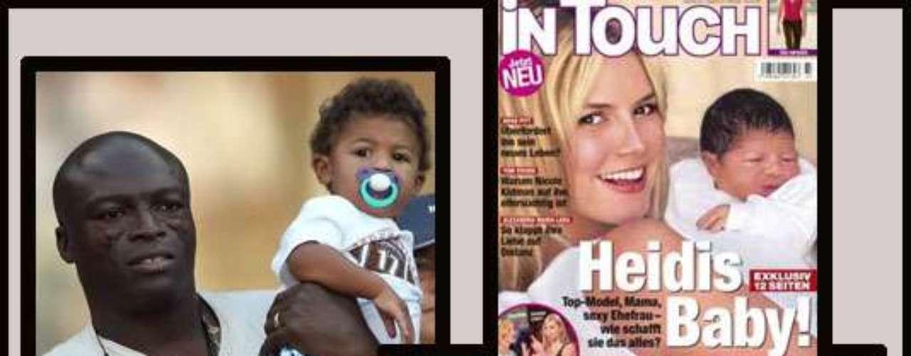 El pequeño  Henry Guenther Ademola Dashtu Samuel es el  hijo de Heidi Klum y  Seal. Sin duda ha tomado los genes de su papá y no de la top model alemana.