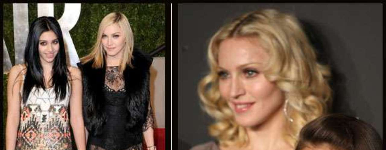 Lourdes, la primogénita de Madonna es muy parecida a su madre pero  claro sin los retoques y los cuidados de belleza que su mamá viene usando de toda la vida.