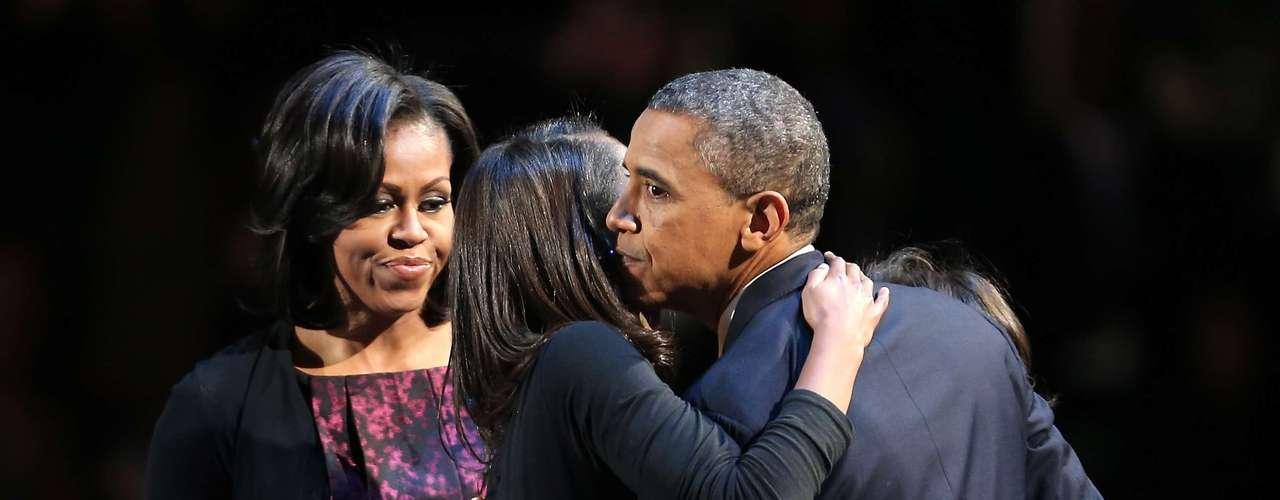 Las hijas de Obama crecieron en la Casa Blanca.