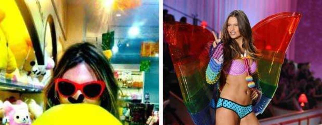 A unas horas de que inicie el tradicional desfile anual de Victoria's Secret, las modelos han publicado algunas fotos sobre cómo viven el momento previo a subir a la psarela. Behati Prinsloo aseguró que estaba muy emocionada pero no podía dormir. Esperemos para este momento ya esté más relajada.