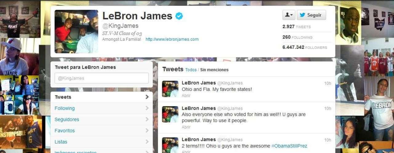 Mientras la estrella de los Heat, Lebron James, felicitó a Ohio por su decisión y por darle la victoria a Obama.