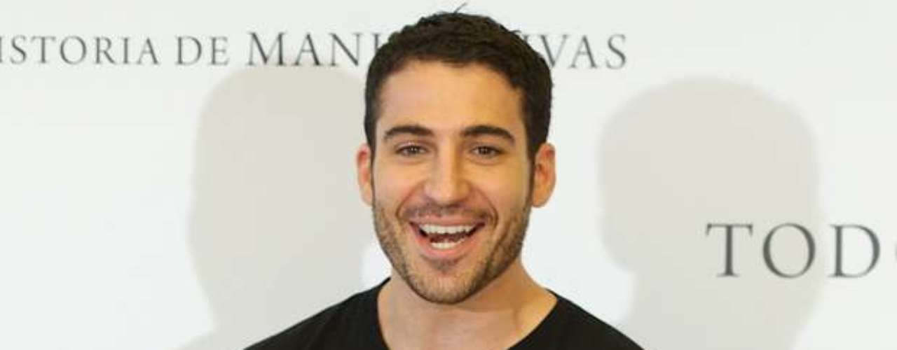 Miguel Angel Silvestre presented his new film \