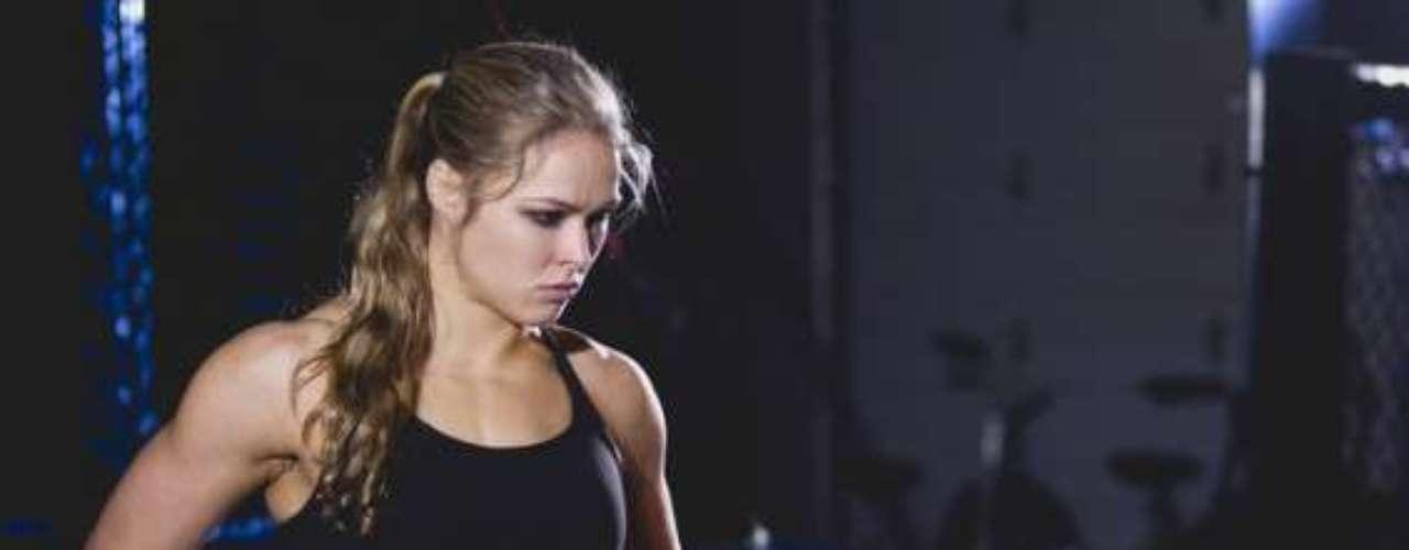 Antes de convertirse en luchadora profesional, Ronda Rousey se entrenó duramente en el Centro de Entrenamiento Olímpico en Wakefield, Massachusetts.