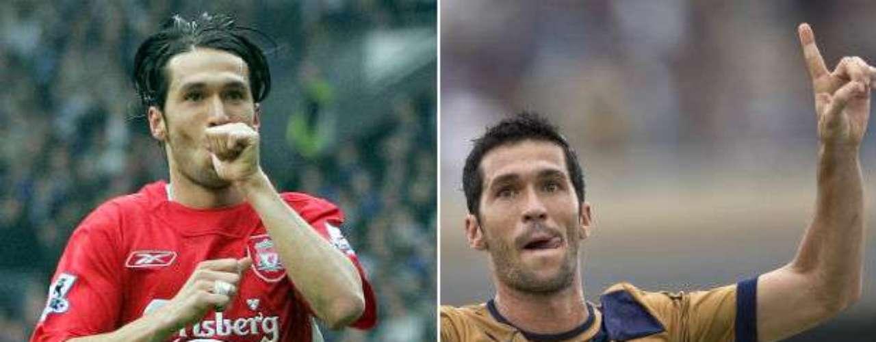 El español Luis García, quien milita actualmente en Pumas de la Universidad, debutó en 1997 para el Barcelona B. De ahí saltó para el Valladolid, Tenerife, Atlético de Madrid, regresó al Barcelona para jugar en primera división. Después pasó a las filas del Liverpool, Racing, Panathinaikos y el Puebla. En total ha vestido 10 camisetas de distintos conjuntos.