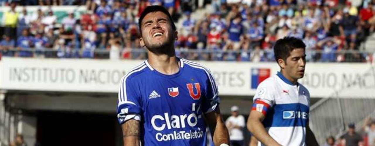 Pedro Morales: llegó desde Croacia con la idea de retomar su mejor nivel en la U y en Chile sólo ha visto suplencia. Hasta en la Copa Chile ha sido banca. Tiene que volver al Dinamo de Zagreb.