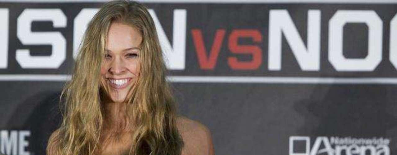 Ronda Rousey ha logrado ser campeona de peso gallo en el campeonato Strikeforce.