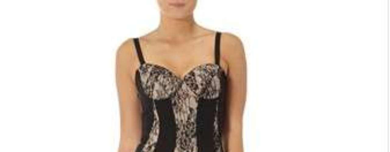 Para las seguidoras de las Kardashians, este vestido de su más reciente colección para Dorothy Perkins. 82 dólares.