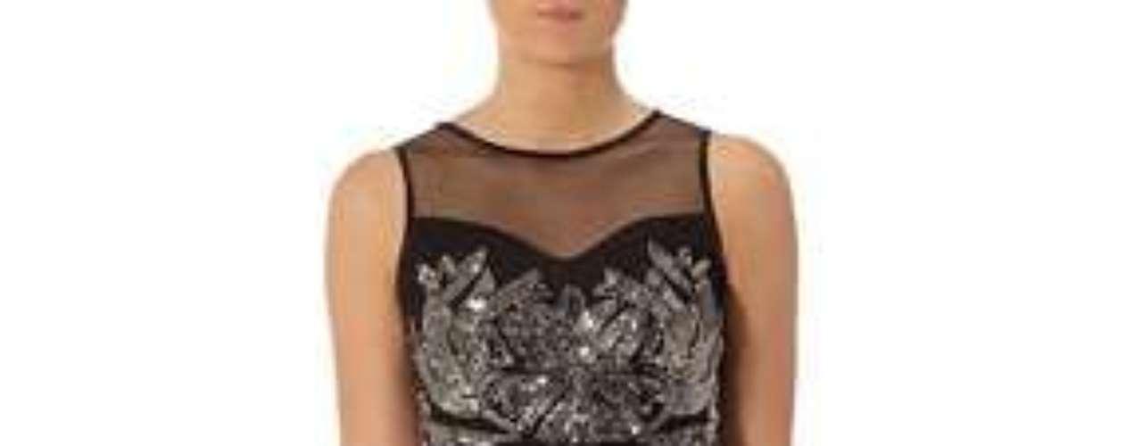 Un vestido para robarse todas las miradas. 110 dólares en dorothyperkins.com.