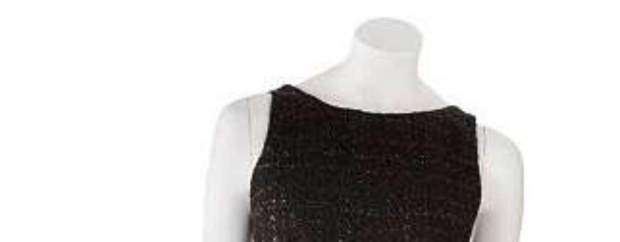 Little black dress: un clásico vestido negro de la colección de Jennifer López. 49 dólares en kohls.com.