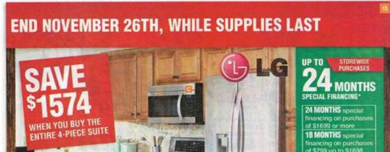 Revisa el catalogo de ofertas de Black Friday de Home Depot y escoge tus regalos favoritos.