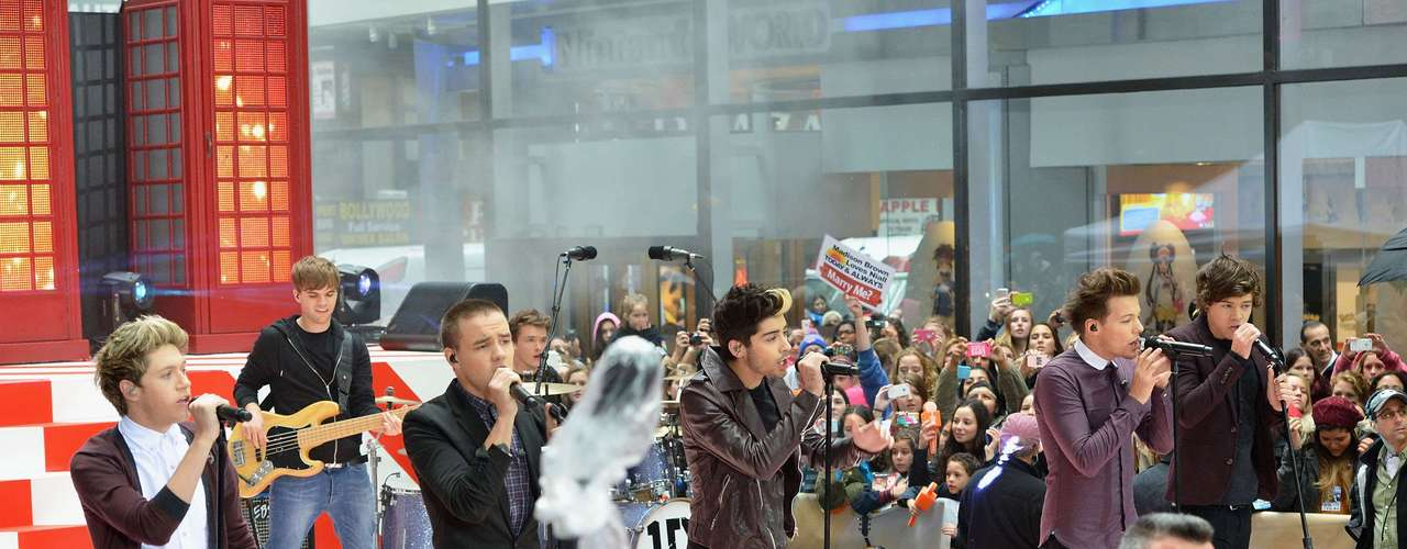 The boys from One Direction unleashed a fan frenzy during their performance on NBC's 'Today' at Rockefeller Plaza on November 13, 2012 in New York City. Girls couldn't contain their tears at the sight of the British boys. And honestly, who can blame them?