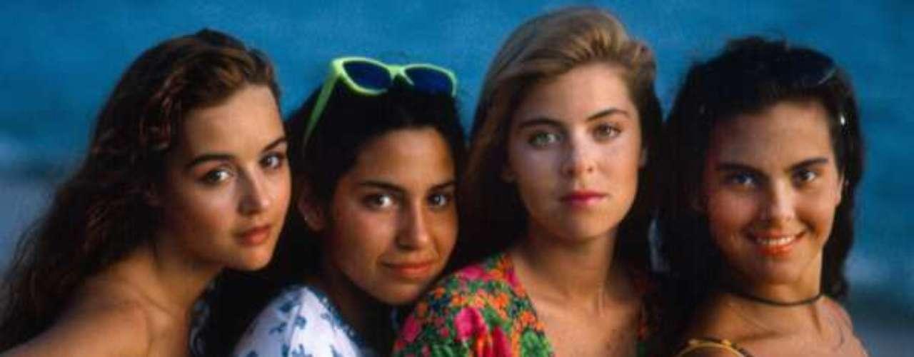 Muchachitas (1991 - México) Todos recuerdan a cuatro muchachas que se encuentran en la academia del arte, intentando satisfacer su sueño de la actuación y de la fama. Amigas, rivales y soñadoras con la actuación de uan joven Kate del Castillo.