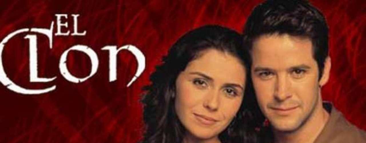 El Clon (2001 - Brasil) Triángulo amoroso entre Lucas, Jade y Diogo. Dos hermanos gemelos que no se conocen y que se enamoran de la misma mujer.