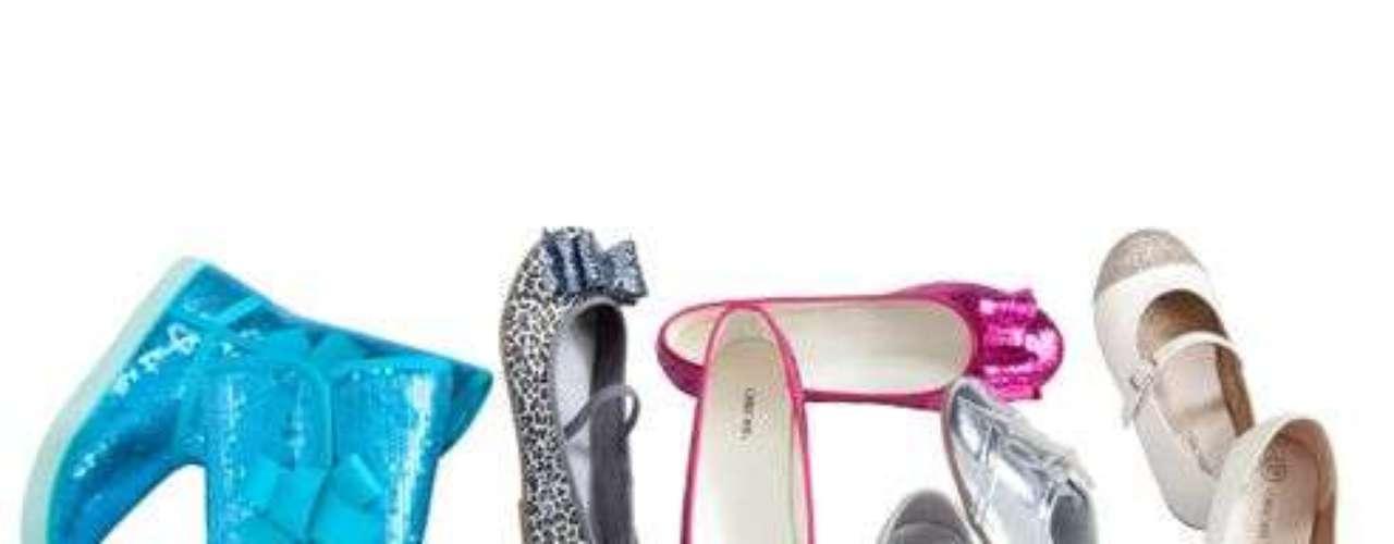 Zapatos de la colección navideña de Target