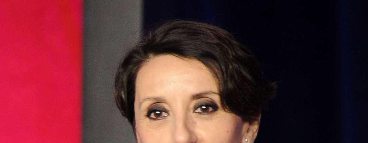 La cantante española Luz Casal recibe su Premio A La Excelencia Musical de La Academia Latina de la Grabación, el miércoles 14 de noviembre en el hotel Four Seasons de Las Vegas, Nevada.