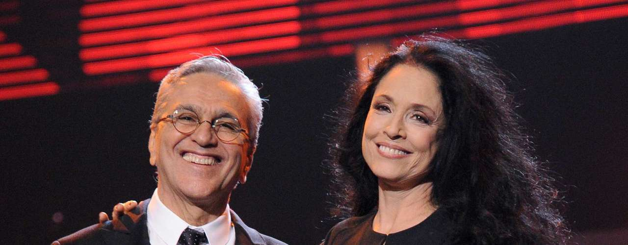 Various celebrities paid tribute to Caetano Veloso this November 14th at the Latin Recording Academy's Person of the Year ceremony held at the MGM Garden Arena in Las Vegas, Nevada.