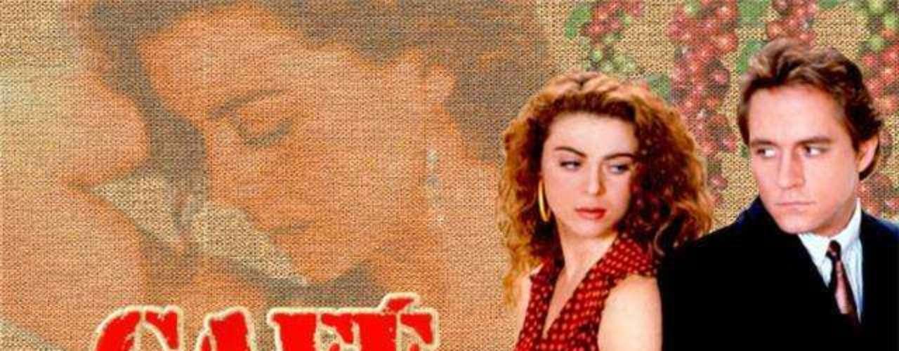Café con aroma de mujer (1994 - Colombia) En 160 capítulos esta novela cuenta la historia de amor entre una recolectora de café, conocida como 'Gaviota', y Sebastián Vallejo proveniente de una distinguida familia y, que por obvias razones, no la aceptaron. Café alcanzó gran éxito que tuvo varios remake a nivel mundial, uno de ellos \