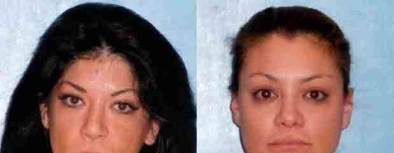 Así lucieron las voces de Los Horóscopos de Durango Vicky y Marisol Terrazas, tras ser detenidas en un baile-jaripeo en Florida, Estados Unidos, tratando de defender a sus fanáticos.