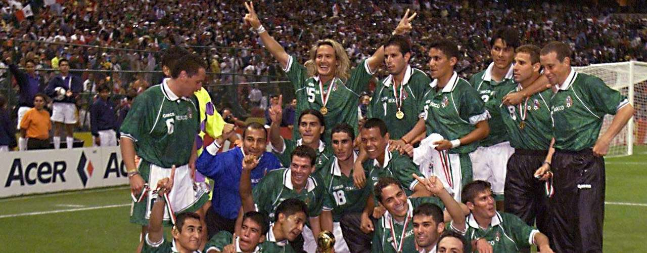 El estadio Azteca fue la sede de la final en 1999 y tuvo a México y a Brasil como sus protagonistas. En aquella ocasión los aztecas contaron con un brillante Cuahtémoc Blanco y Francisco Palencia que derrotaron a lus sudamericanos por 4-3.