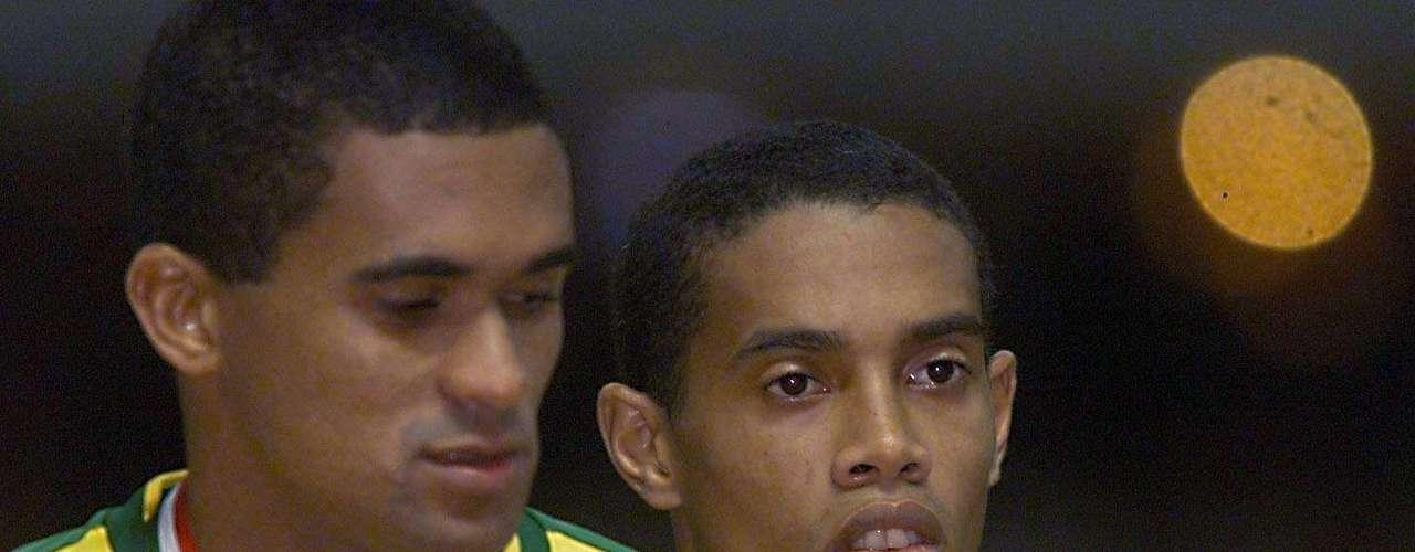 Brasil tenía a Ronaldinho en un gran momento, pero los mexicanos pudieron frenarlo y dejarlos como subcampeones.