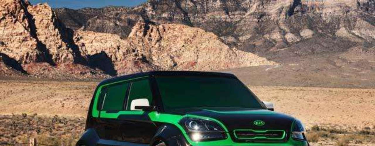 Fotos KIA Soul Green Lantern inspired