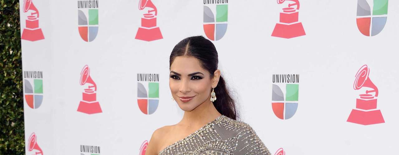 HIT: Alejandra Espinoza was another one of the best dressed women with a skin tight dress.
