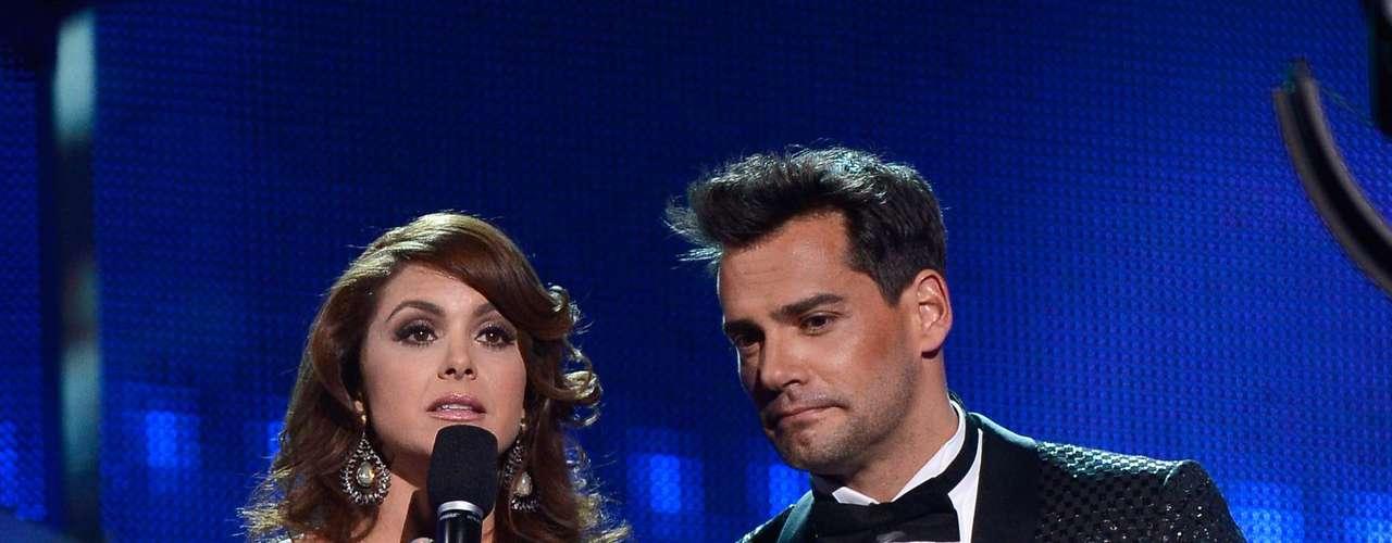 Ambos sirvieron como presentadores en la edición número 13 de esta premiación.