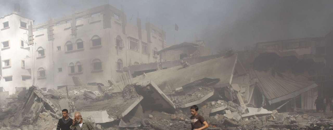 El sábado, las sirenas de advertencia se escucharon por tercer día consecutivo, advirtiendo sobre la llegada de un cohete disparado desde Gaza.
